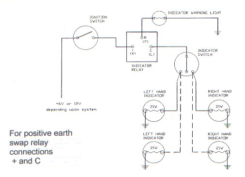 Wiring Diagram For 12v Indicators : Welcome to the austin seven friends web site and forum
